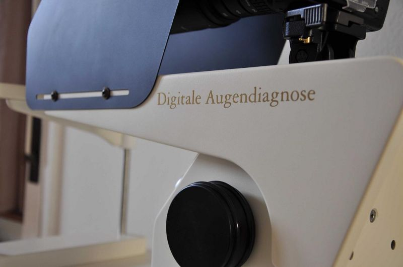 Digitale Augendiagnose